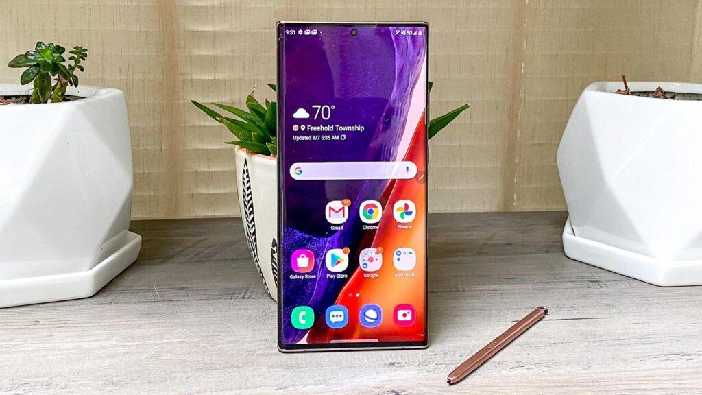 Samsung Galaxy Note 21 range